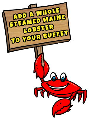 crab beach sign