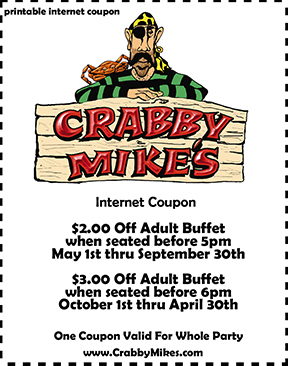 Crabby Coupons