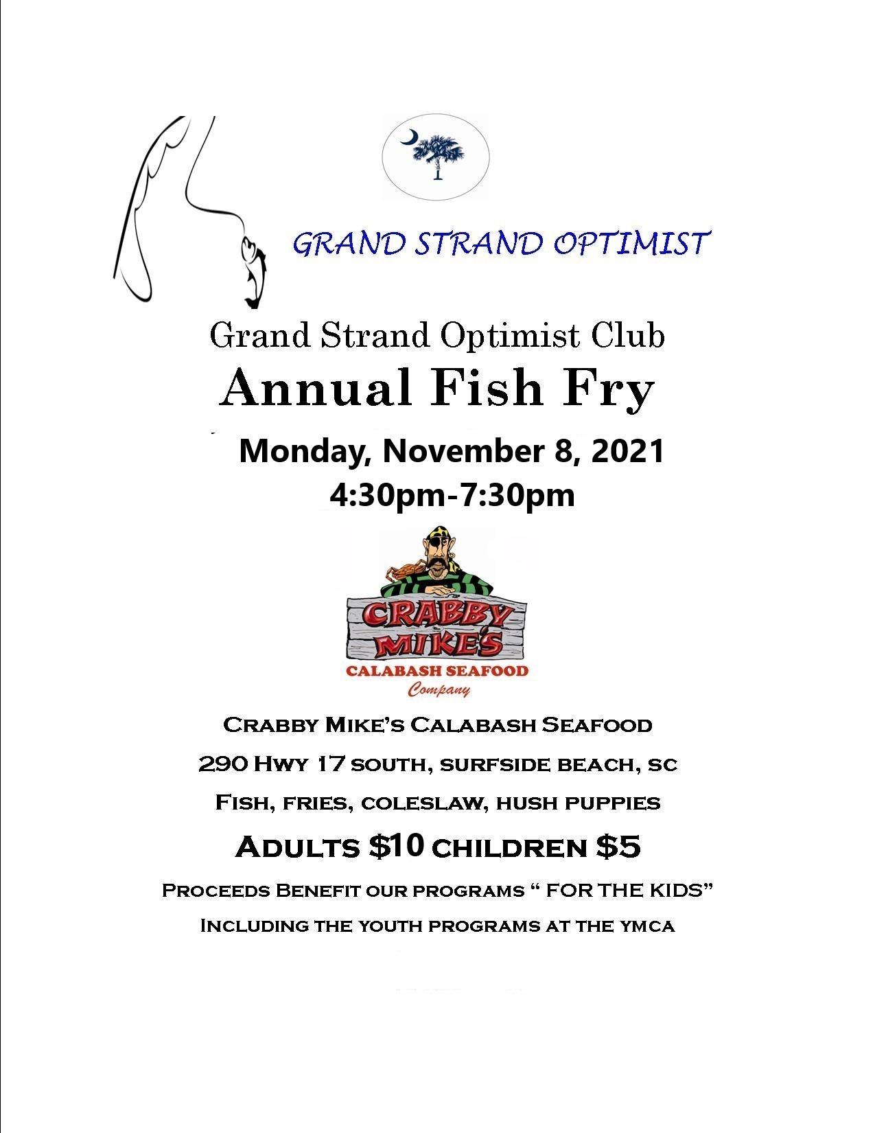 Grand Strand Optimist Annual Fish Fry